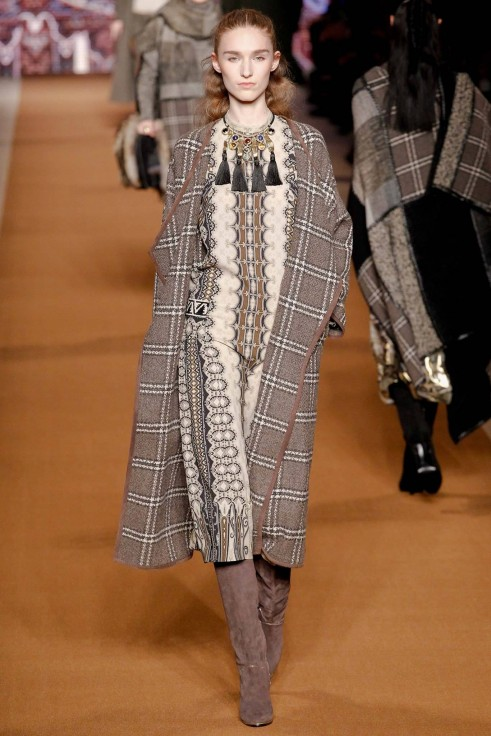 Boho Chic Clothes In Etro Fall Winter Bohemian Fashion