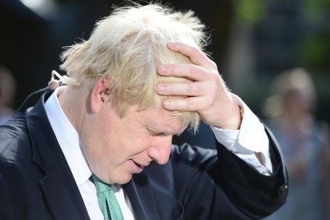 Borishair Boris Johnson