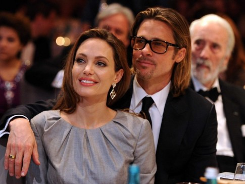 Angelina Jolie And Brad Pitt And Angelina Jolie