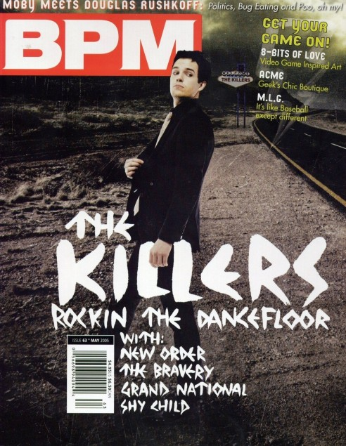 Magazine Covers Brandon Flowers Brandon Flowers