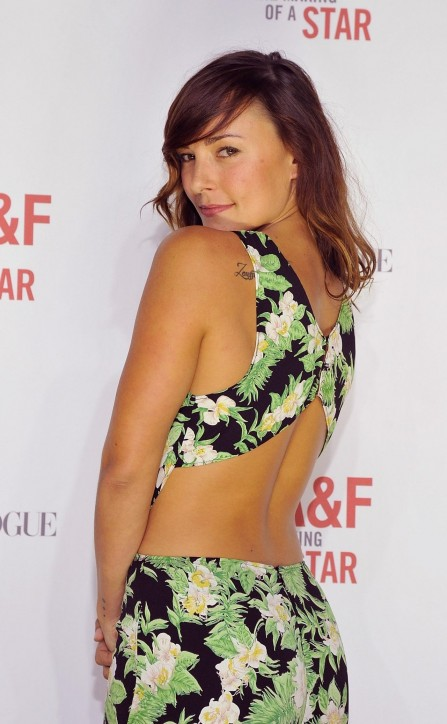 Briana Evigan Abercrombie Fitch Spring Campaign Party Hollywood Feb Briana Evigan