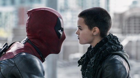 Still Of Ryan Reynolds And Brianna Hildebrand In Deadpool Brianna Hildebrand