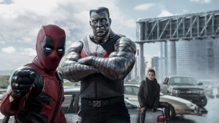 Still Of Ryan Reynolds Stefan Kapicic And Brianna Hildebrand In Deadpool Large Picture Brianna Hildebrand
