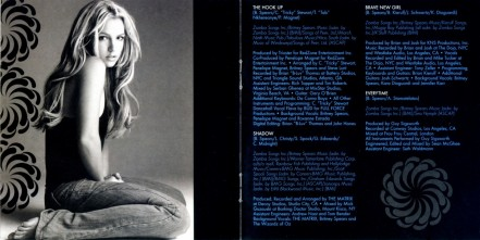 Britney Spears In The Zone Booklet Albums