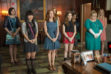 Still Of Anna Kendrick Brittany Snow Rebel Wilson Hana Mae Lee Chrissie Fit Alexis Knapp Kelley Jakle And Shelley Regner In Pitch Perfect Large Picture And Anna Kendrick