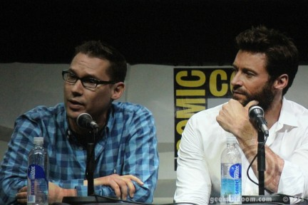 Sdcc Men Days Bryan Singer Hugh Jackman Bryan Singer