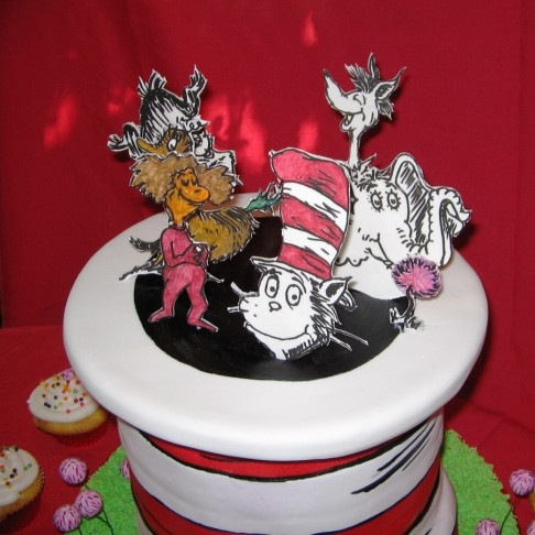 Gqdd Seussical The Musical Cast Party Cake Cake