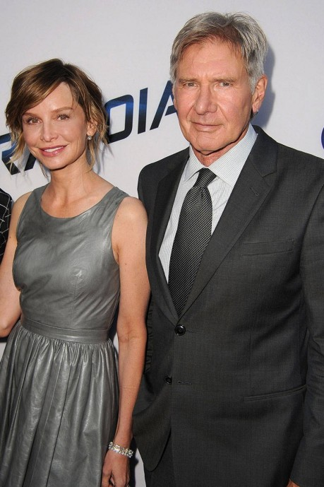 Ab Dd Secret Weddings Harrison Ford Calista Flockhart Xln Xln Calista Flockhart