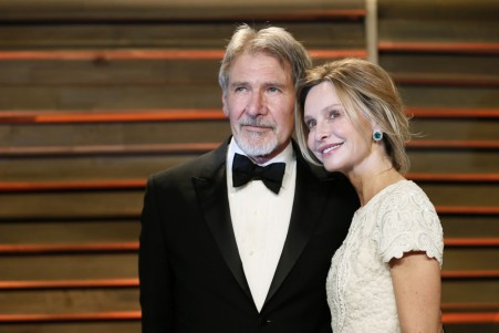 Calista Flockhart Harrison Ford Reuters