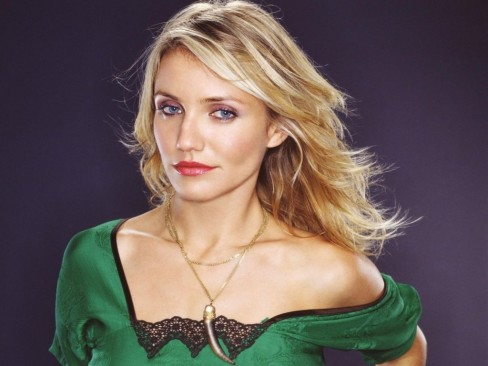 Hollywood Top No Actress Cameron Diaz Cute Photoimage
