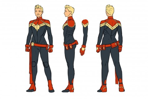 Slide First Look At The New Captain Marvel Written By Agent Carter Showrunner