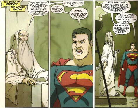 Superman Shazam First Thunder Vs Superman