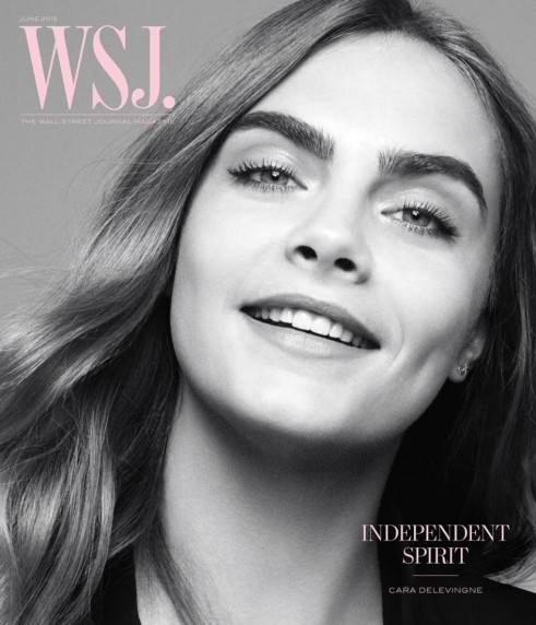 Cara Delevingne Covers Wsj Magazine June Issue