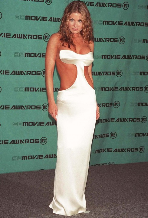Revealing Red Carpet Carmen Electra