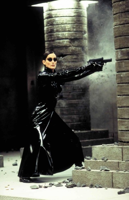 Still Of Carrie Anne Moss In Matrix Revolutions Large Picture Matrix
