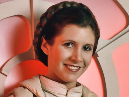 Carrie Fisher Princess Leia Close Up