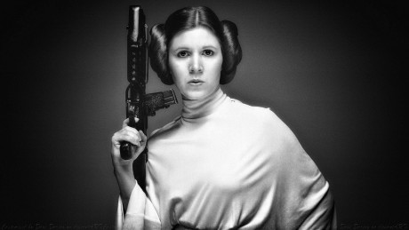 Carrie Fisher Princess Leia Iii By Dave Daring Carrie Fisher