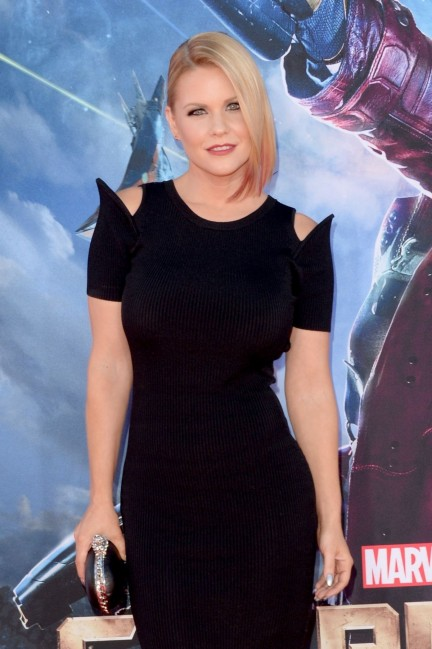 Carrie Keagan Arrived To Premiere Of Marvel Guardians Of The Galaxy Beach