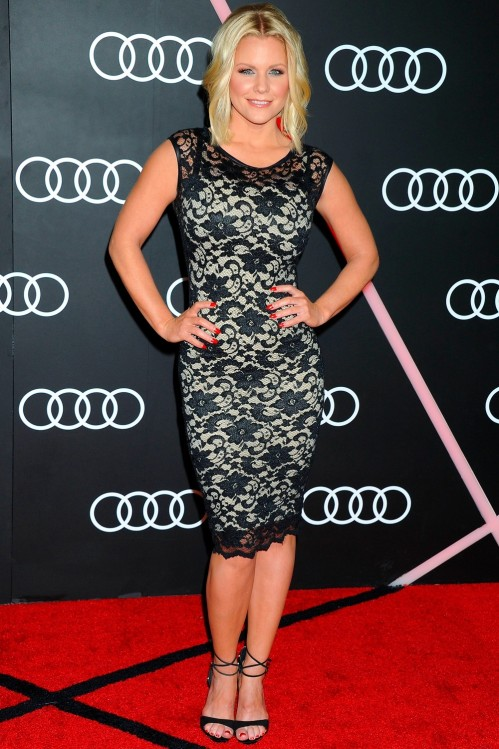 Carrie Keagan At The Golden Globes Kick Off Party In La Carrie Keagan