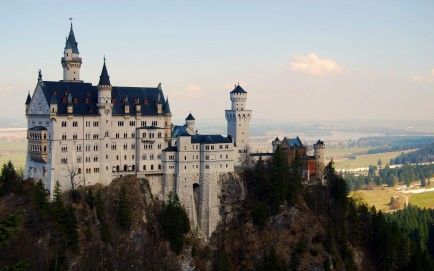 Lan Apes Nature Castles Forests Germany Architecture Hills Historic Wallpaper Castles