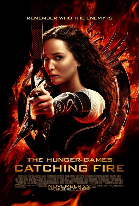 The Hunger Games Catching Fire Poster Wallpaper Catching Fire