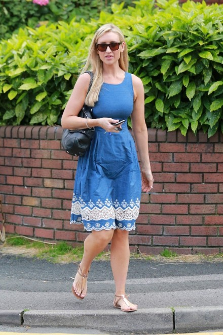 Catherine Tyldesley Out And About In Cheshire Catherine Tyldesley