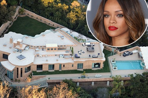 Modern Rihannascelebrity Houses In La Architecture Design Ideas Image