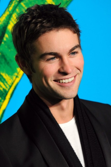 Chace Crawford Black Jacket Wh