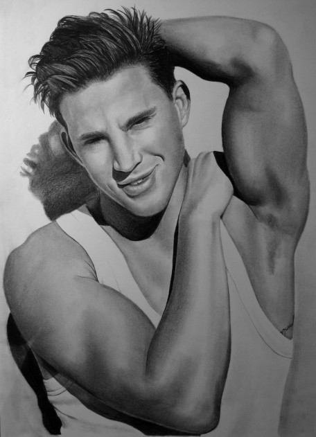 Channing Tatum Amazing Drawing Channing Tatum