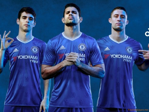 Adidas Home Kit Chelsea Fc Chelsea