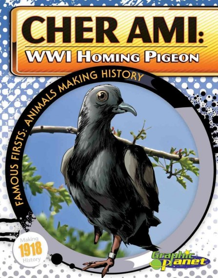 Cher Ami Wwi Homing Pigeon Hardcover  Cher Ami