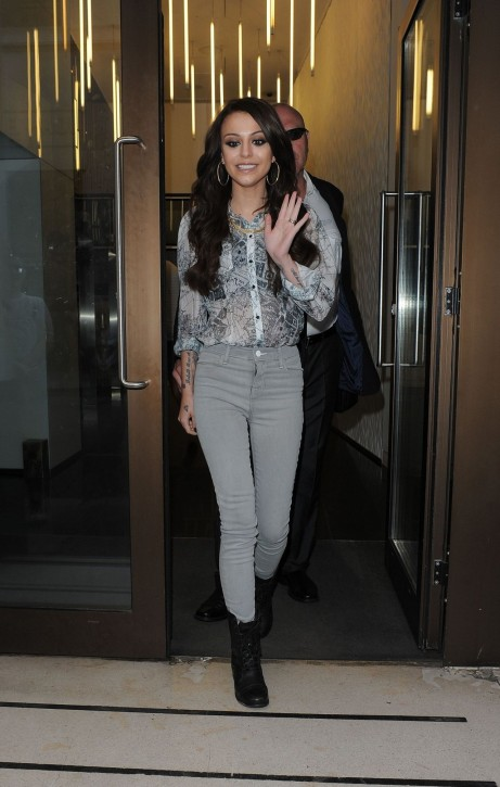 Cher Lloyd Casual Style Leaving The Sony Offices In London June Cher Lloyd