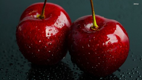 Cherries Photography Wallpaper Wallpaper