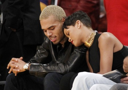 Rihanna And Chris Brown In Los Angeles December Daughter