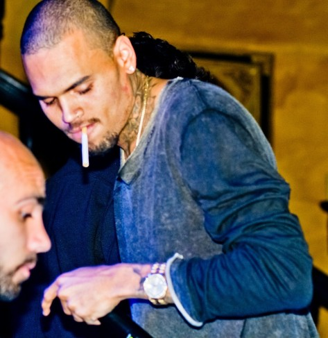 Rihanna And Chris Brown Partying Together Around Am At Adagio Nightclub At The Aftershow Party For Chris Brown Concert At Arena Hot