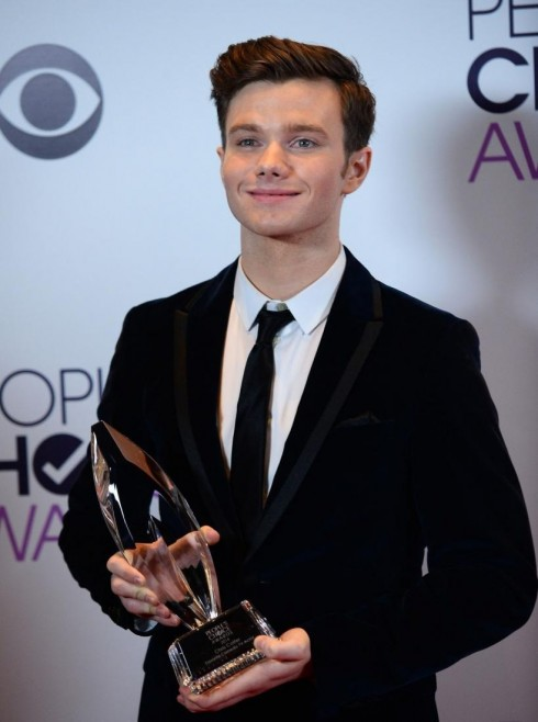 Chris Colfer Not Fired From Glee Manager Says The Actors Twitter Was Hackedlg Chris Colfer