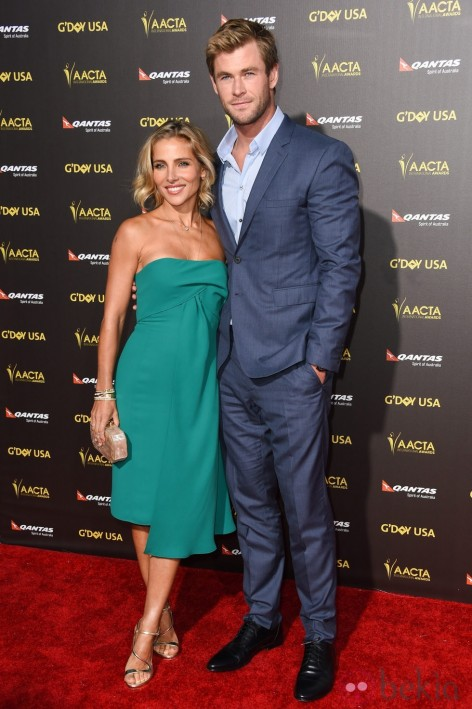 Elsa Pataky Chris Hemsworth Alfombra Roja Gala Day Usa
