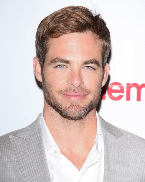 Chris Pine Cinemacon Chris Pine