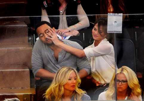 Chrissy Teigen And John Legend Getting Silly Chrissy Teigen