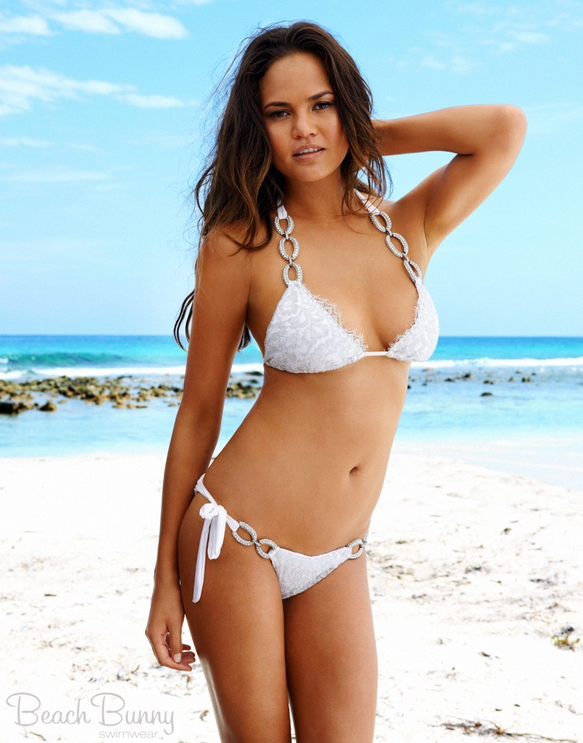 Chrissy Teigen Bridal Bikini Put Ring On It Chrissy Teigen