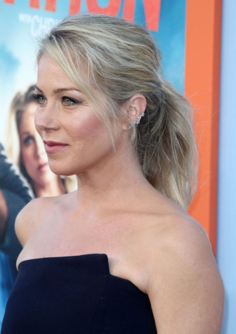 Christina Applegate Attends The Vacation Premiere In Westwood California