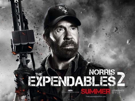 Chuck Norris In The Expendables Chuck Norris