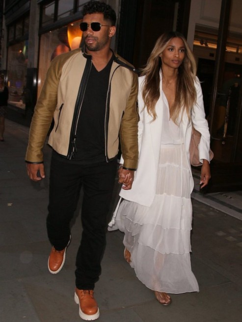 Newlywed Glow Ciara And Russell Wilson Stepped Out In London After Their Surprise Uk Wedding Ciara