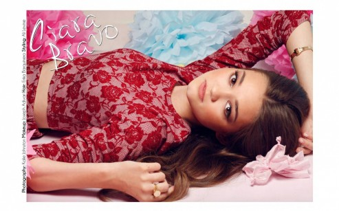 Ciara Bravo Afterglow Magazine October