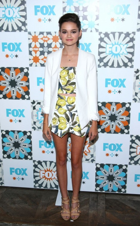 Ciara Bravo Fox Summer Tca All Star Party In West Hollywood Ciara Bravo
