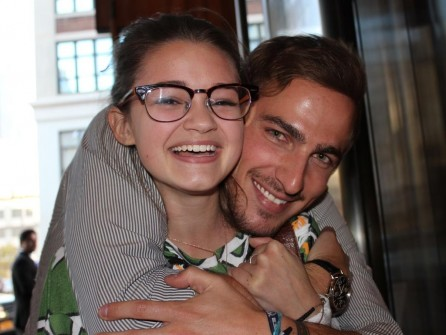 Ciara Bravo Worldwide Day Of Play And Kendall Schmidt
