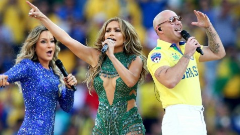 Jennifer Lopez Jlo Pitbull Claudia Leitte In Opening Ceremony Of World Cup Ole Ola Song World Cup