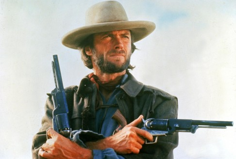 Clint Eastwood With Gun Other Clint Eastwood