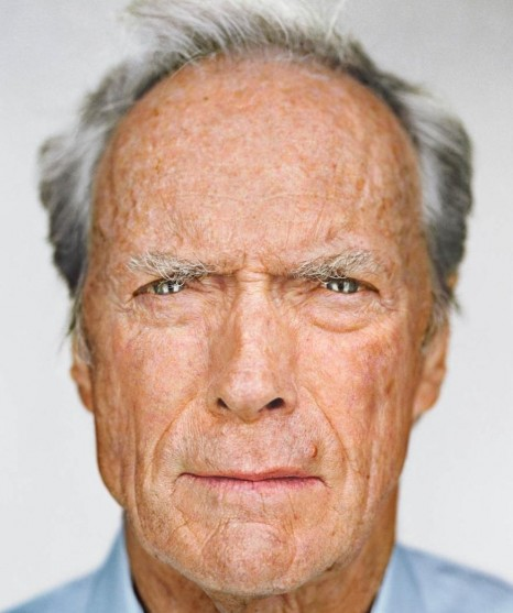 Martin Schoeller Clint Eastwood Portrait Up Close And Personal Children