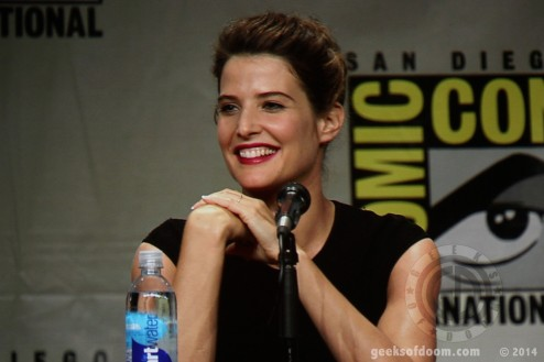 Avengers Age Of Ultron Panel Cobie Smulders